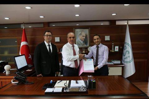 Ankara Haymana Sırçasaray Göleti Sulaması Hdpe Boru Alımı İşine Ait Sözleşme İmzalandı