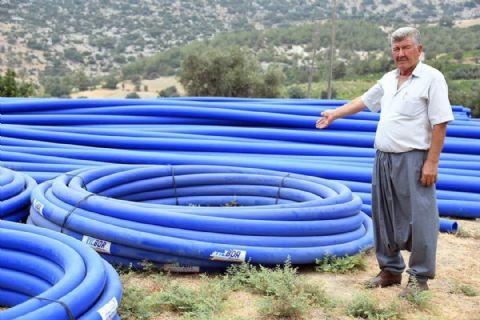 Köylerde Yılbor Boru Plastik Tercih Ediliyor