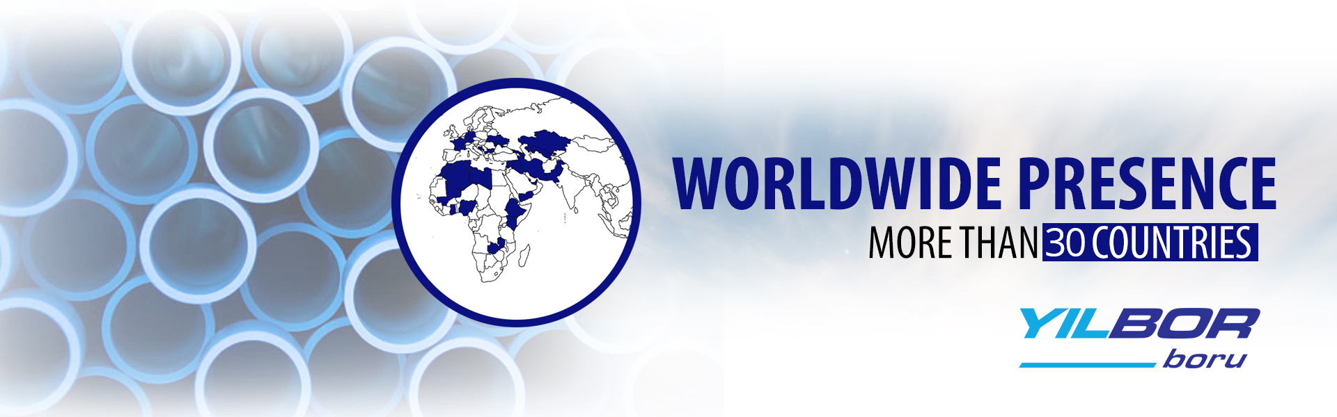 World Wide Presence More Than 30 Countries